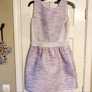 C. Luce Purple sparkly & embroidered dress